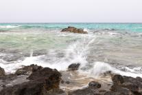 Schlagen der Wellen