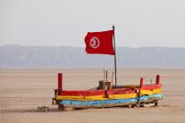 Wüste am Rande Tunesiens